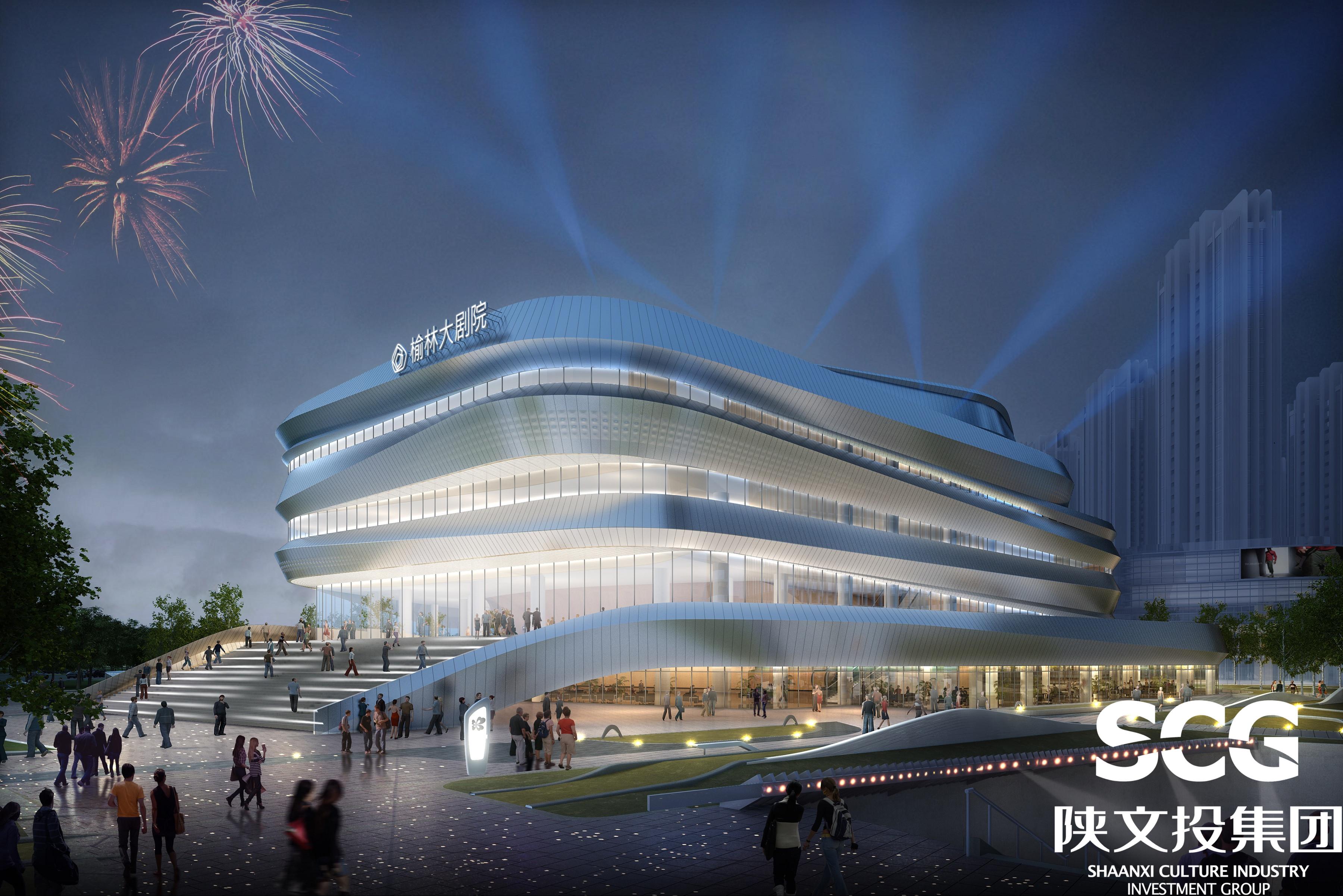 研究院完成初步设计及施工图设计,德国昆克剧院工程咨询公司承担舞台